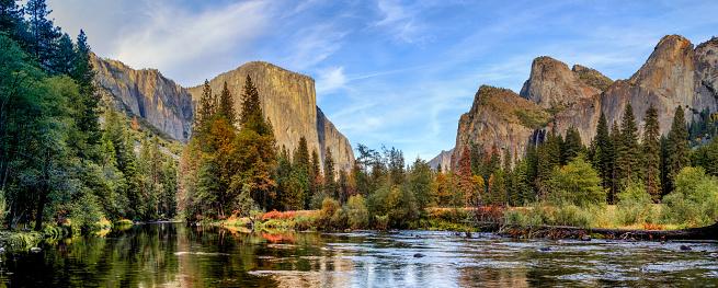 Yosemite National Park Panorama