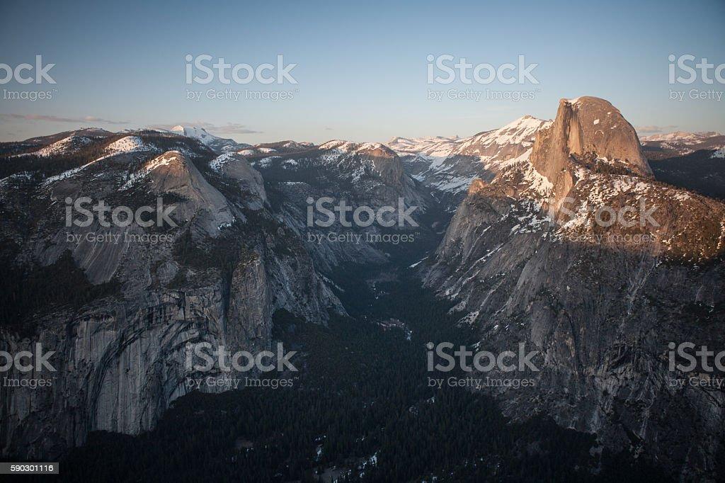 Yosemite National Park royaltyfri bildbanksbilder