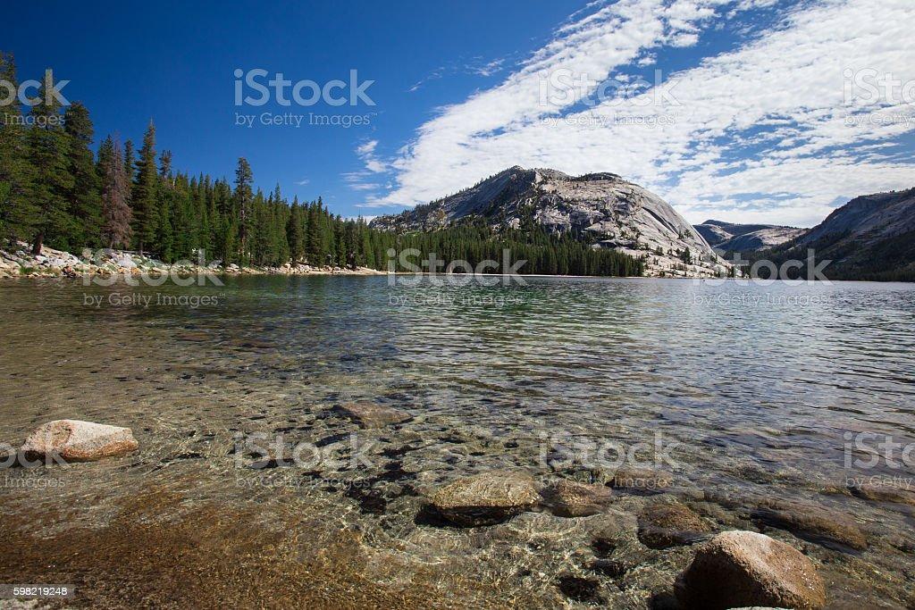 Yosemite National Park Tenaya Lake foto royalty-free