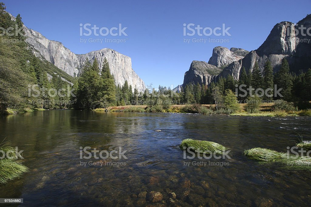 Yosemite NP stock photo