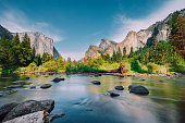 Yosemite Park during a sunny day