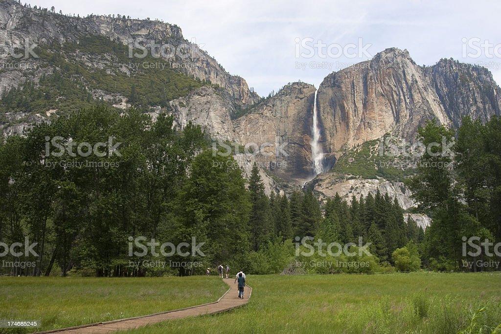 Yosemite Park stock photo