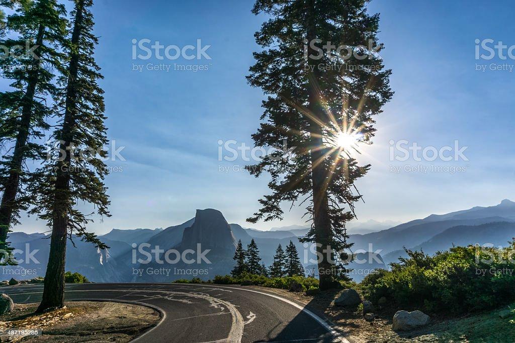 Yosemite stock photo