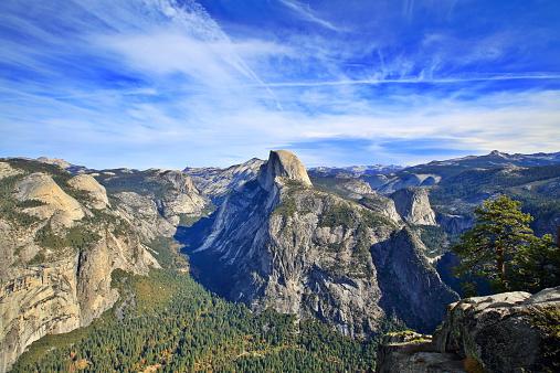 Yosemite Valley and Half Dome