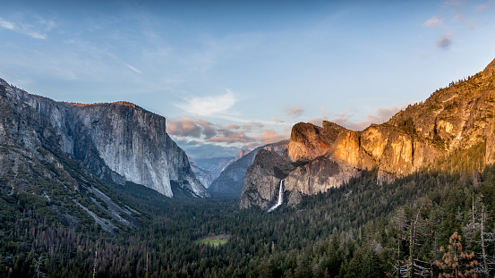 Yosemite Valley Stock Photo - Download Image Now