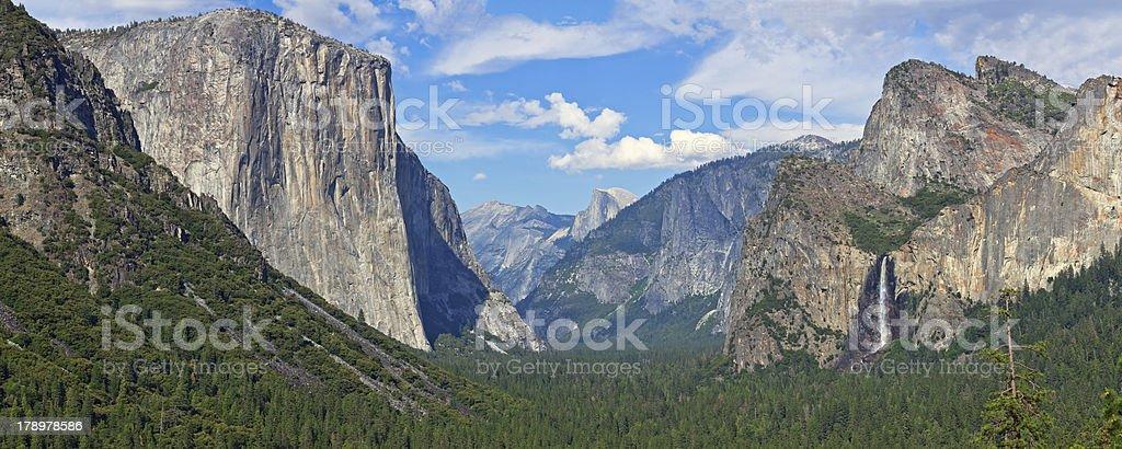 Yosemite Valley stock photo