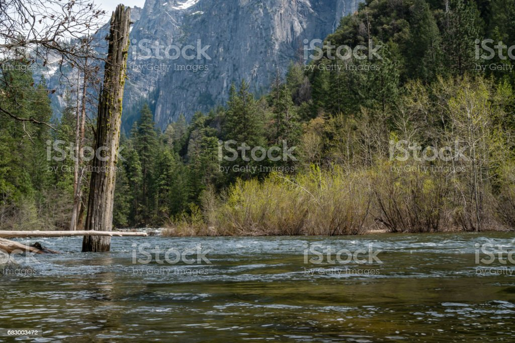 Yosemite Valley royalty-free stock photo