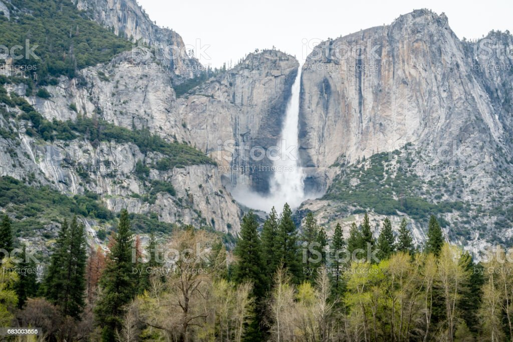 Yosemite Valley royalty-free stock photo