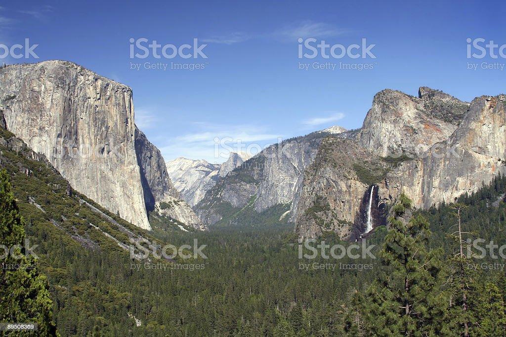 Yosemite Valley 免版稅 stock photo