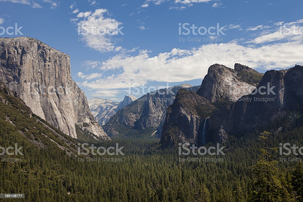 Yosemite Valley View - foto de stock