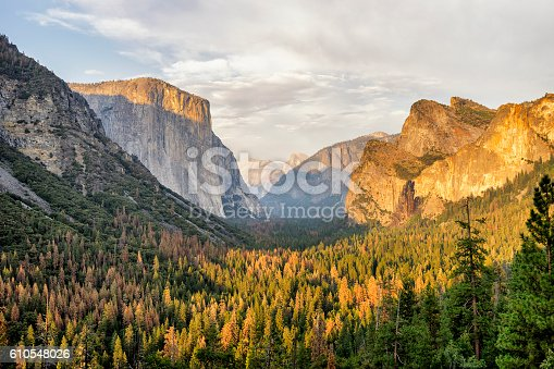 Yosemite View in California