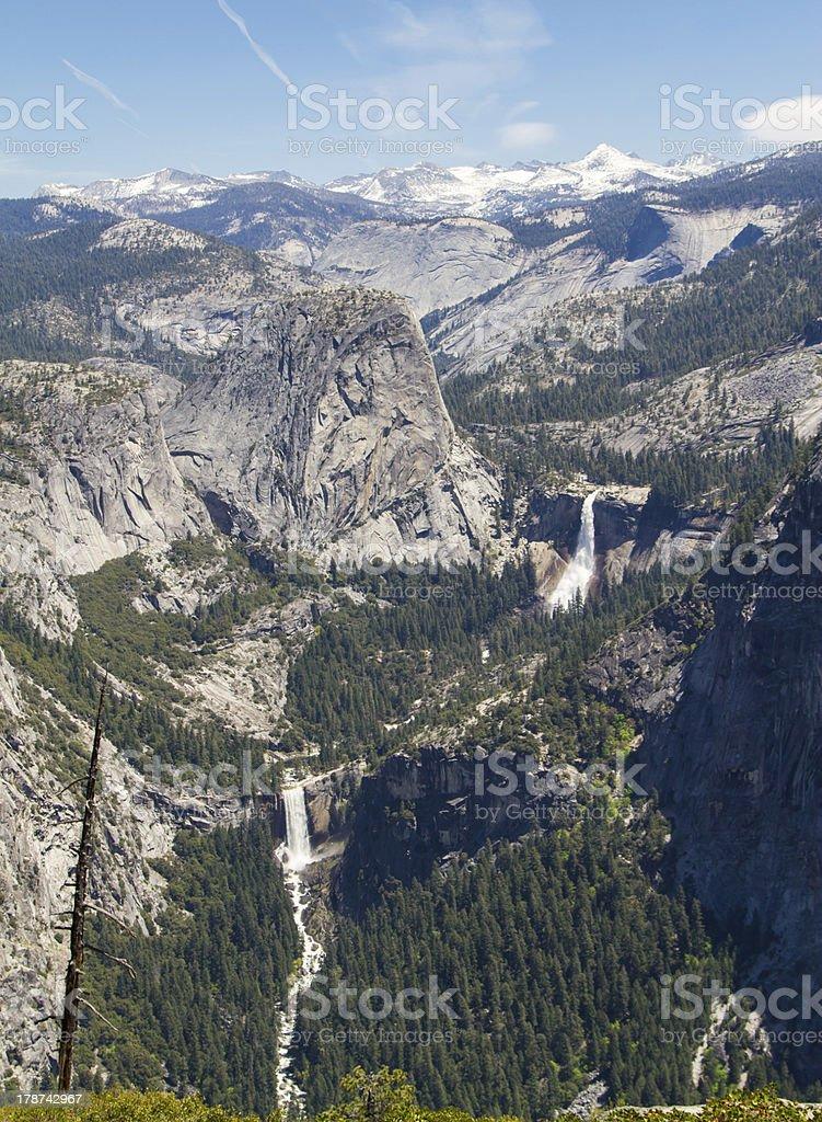 Yosemite waterfalls royalty-free stock photo