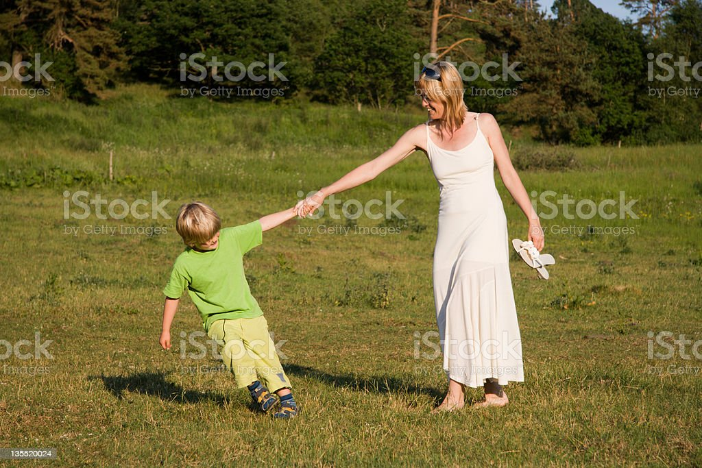 You and I stock photo