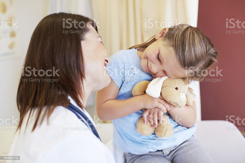 You and your friend are both in great shape! royalty-free stock photo