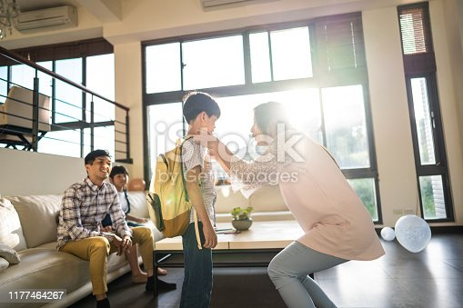 istock You are big boy now ! 1177464267