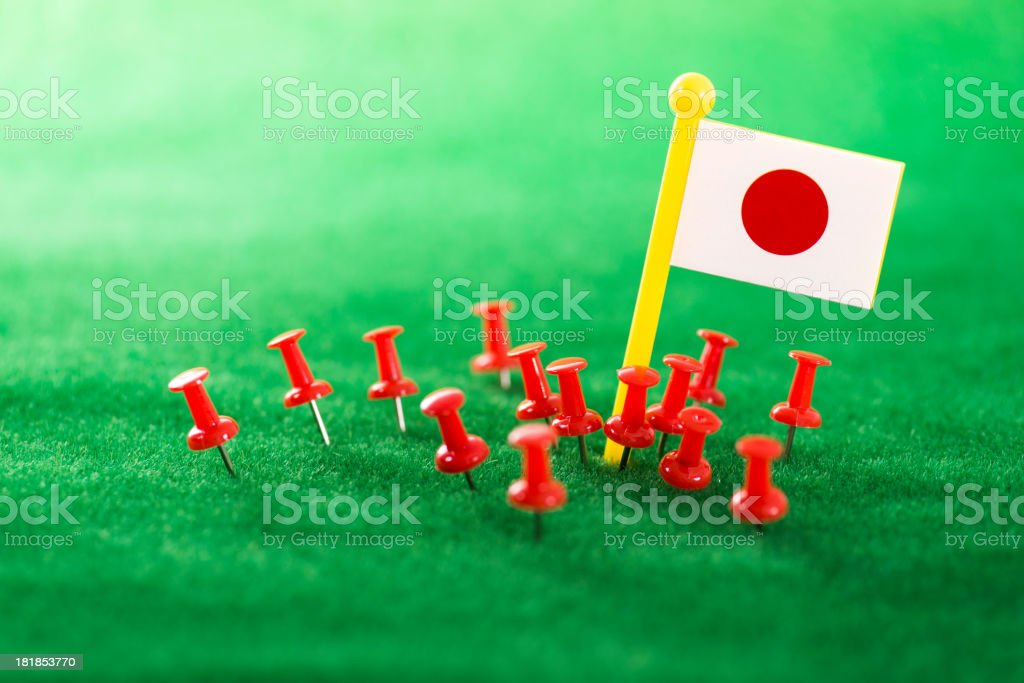 you are in Japan royalty-free stock photo