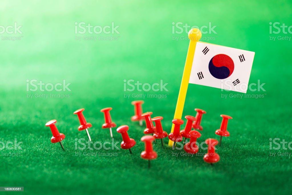 you are in South Korea royalty-free stock photo
