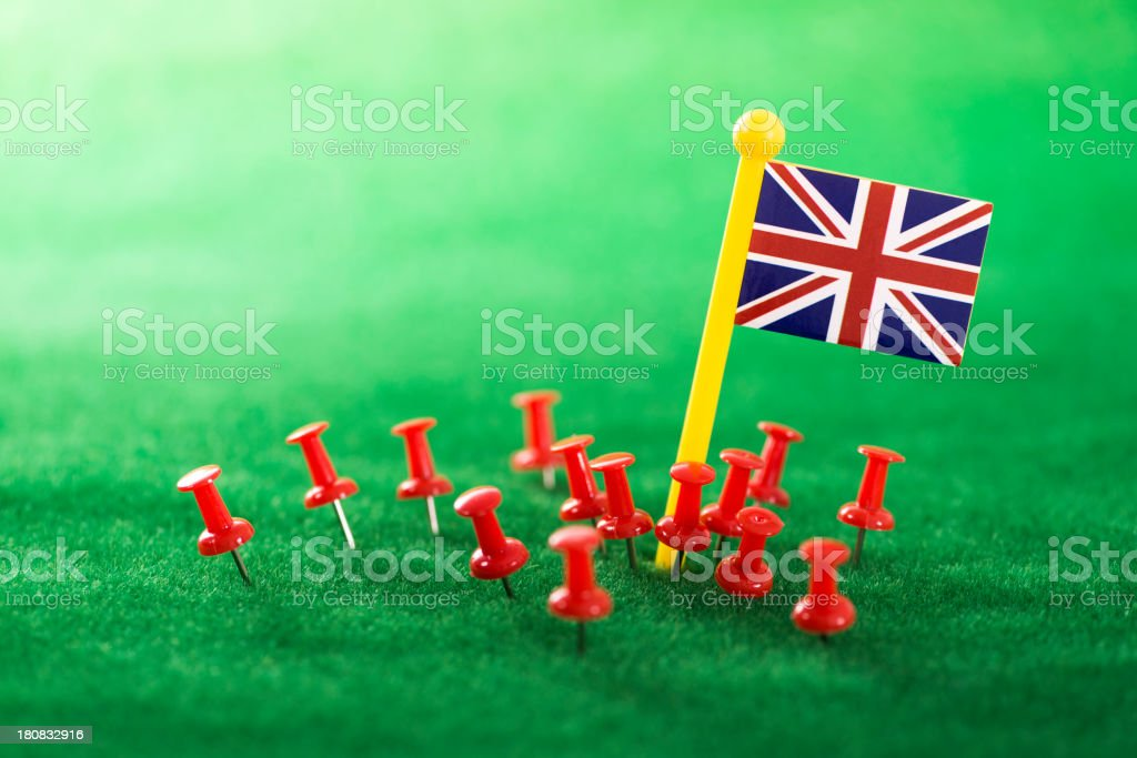 you are in United Kingdom royalty-free stock photo