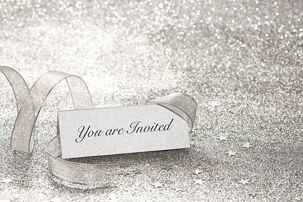 Vous êtes invité à silver Marque-place - Photo