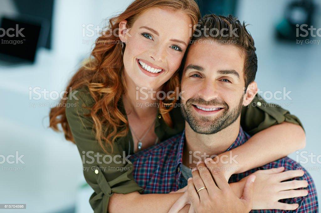 You are my favourite reason to smile stock photo