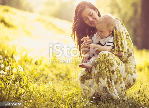 525959168 istock photo You are my little flower. 1058720186