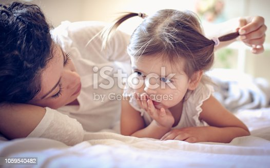 1063760138 istock photo You are my special little girl. 1059540482