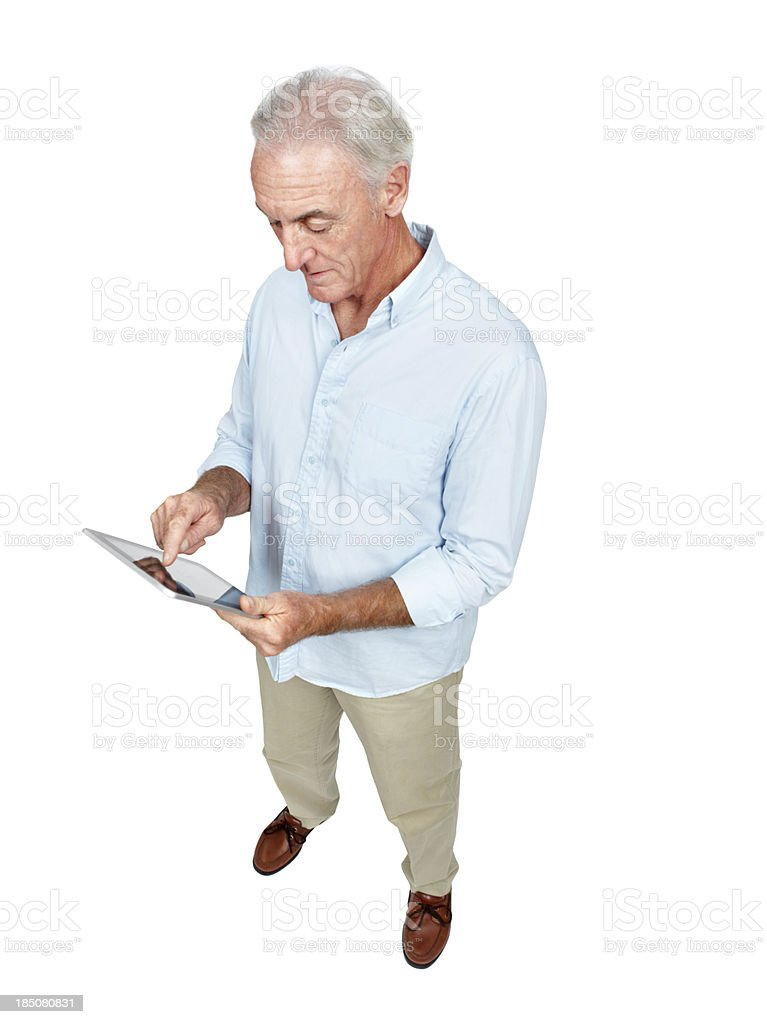 You are never too old to learn new things royalty-free stock photo
