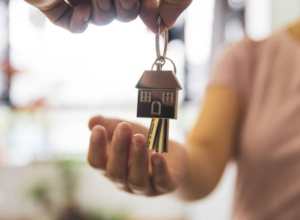 You are new home owner stock photo
