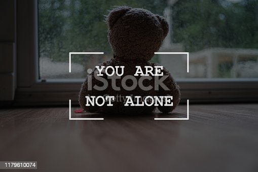 istock You are not alone sign 1179610074