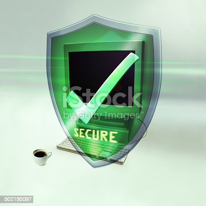 istock You are now fully protected 502195097