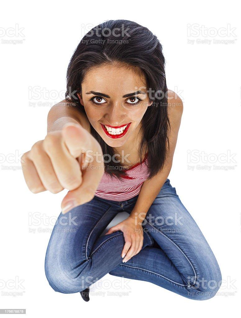 Usted es el elegido una foto de stock libre de derechos