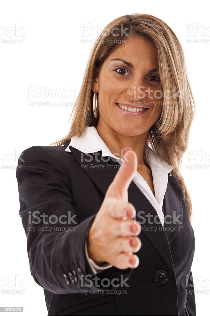 You are welcome royalty-free stock photo