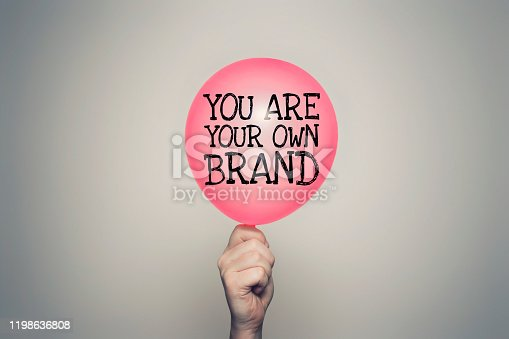 istock You are your own brand 1198636808