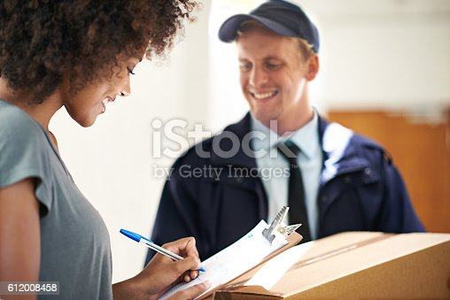 1053001624istockphoto You can always rely on us for a speedy delivery 612008458
