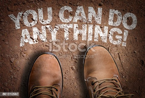636998872 istock photo You Can Do Anything 861310562