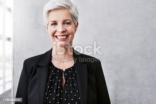 981750034 istock photo You can face anything when you face it with confidence 1160983562