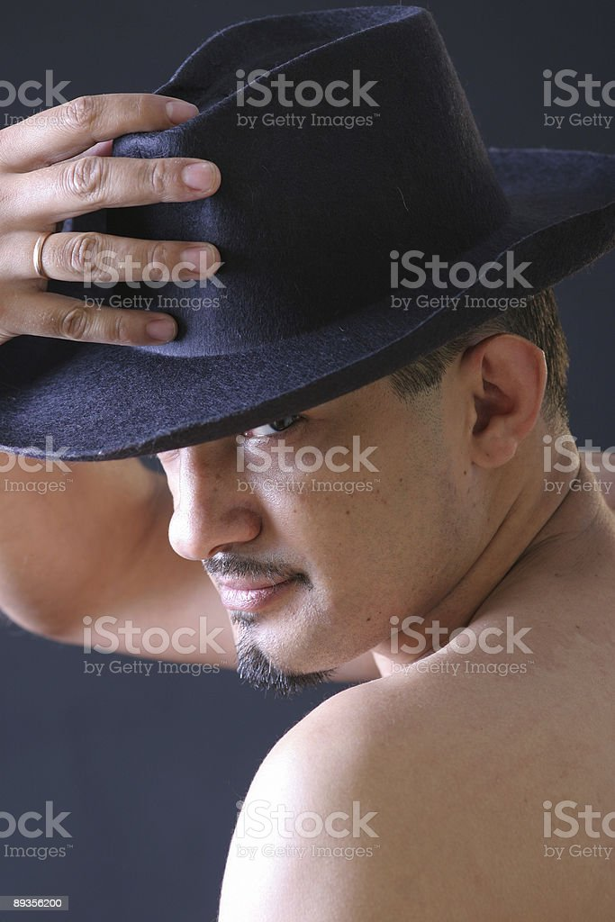 you can leave your hat on royalty free stockfoto