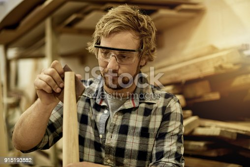 915192732 istock photo You can make beautiful things out of wood 915193882