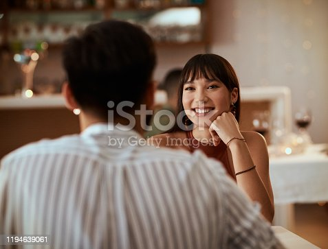 istock You can tell that she's falling for him 1194639061