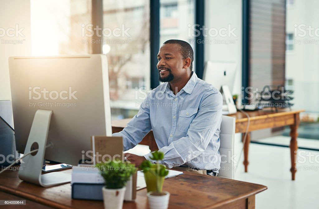 You can throw any challenge at him and he'll succeed stock photo