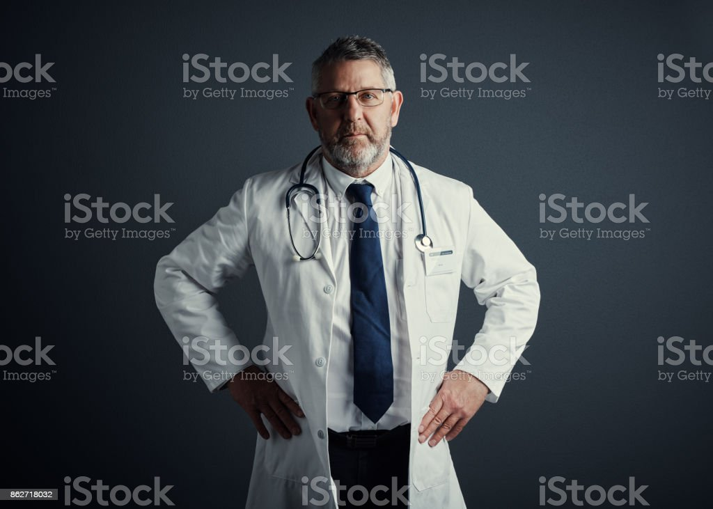 You can trust me with your health stock photo