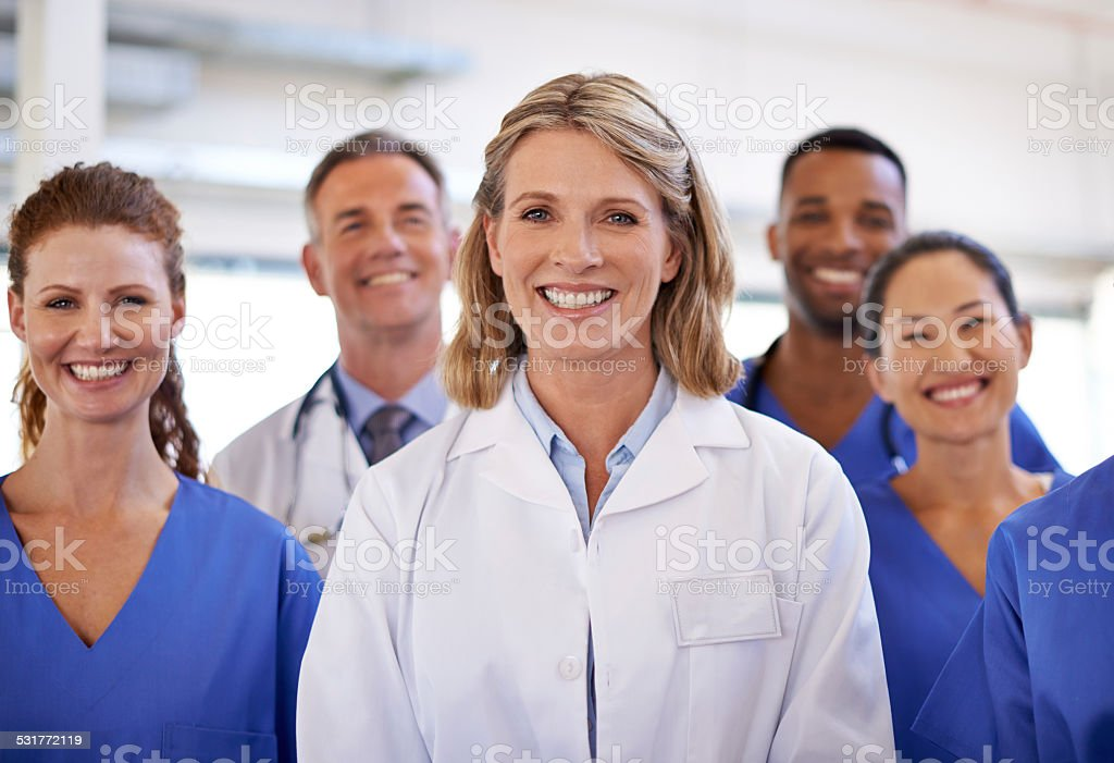 You can trust them with your health stock photo