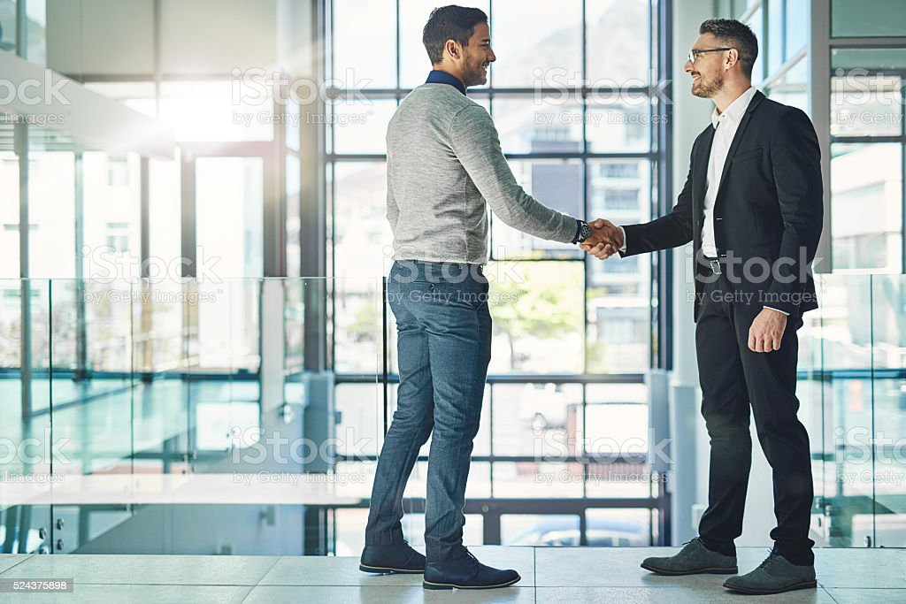You deserve this promotion stock photo