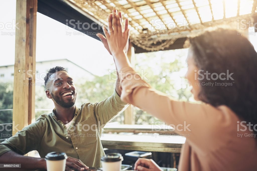 You found a great little spot here, babe stock photo