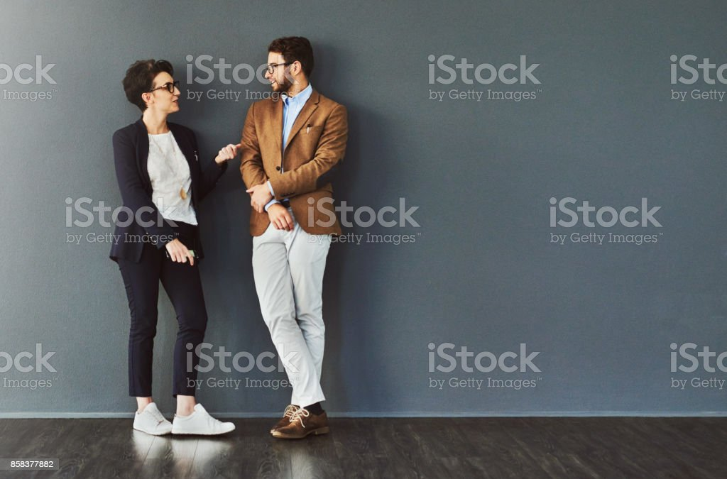 You gain so much from mingling stock photo