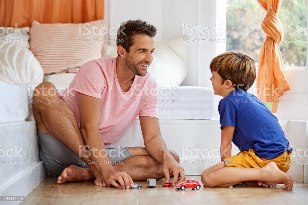 Lernen Sie Ihre Kinder kennen, wenn du mit ihnen spielst – Foto