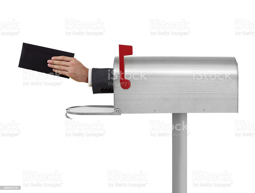 You got mail stock photo