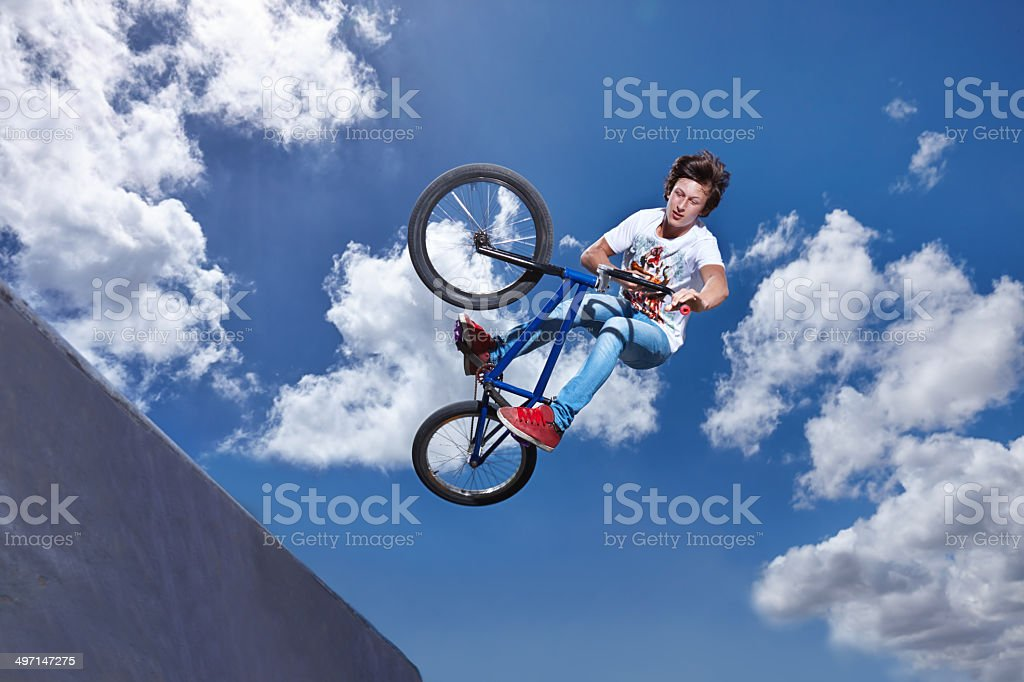 You gotta be brave to try this stock photo
