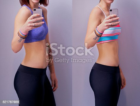 istock You gotta earn a body like this! 521787659