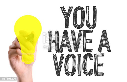 istock You Have a Voice 837698206